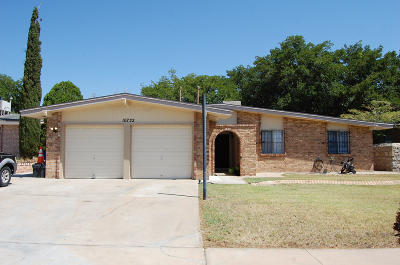 El Paso TX Single Family Home For Sale: $129,950