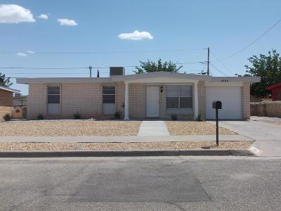 El Paso Rental For Rent: 6004 Sorrento Street