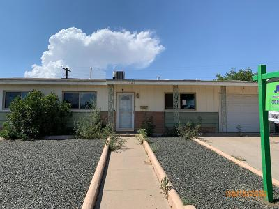 El Paso Single Family Home For Sale: 7525 Benson