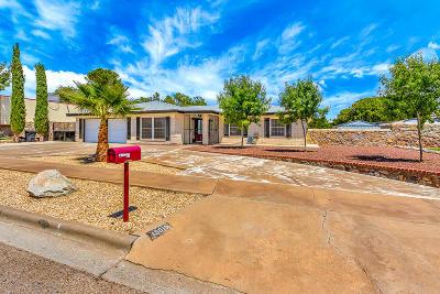 Horizon City Single Family Home For Sale: 19010 Armington Drive