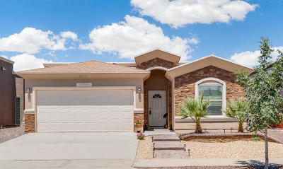 El Paso Single Family Home For Sale: 14949 Jerry Armstrong Court