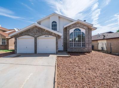 El Paso Single Family Home For Sale: 10878 Golden Sands Drive