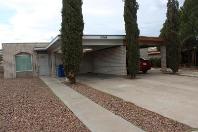 El Paso Single Family Home For Sale: 10564 Kinross Avenue