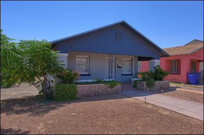 El Paso Single Family Home For Sale: 3326 Hamilton Avenue