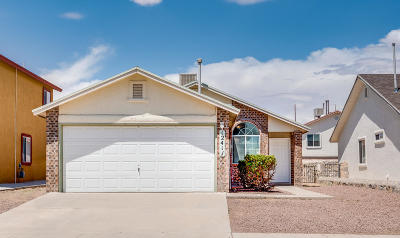 El Paso Single Family Home For Sale: 12417 Tierra Lucia Court