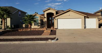 El Paso TX Single Family Home For Sale: $180,000