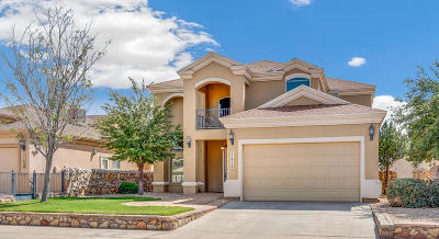 El Paso Single Family Home For Sale: 11416 Victor Flores Place