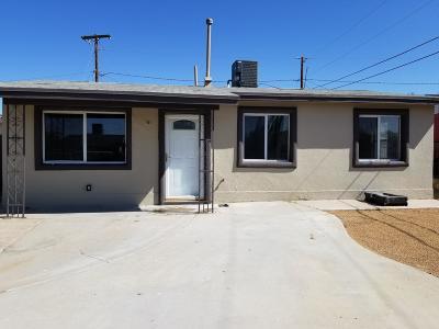 El Paso Single Family Home For Sale: 7903 San Paulo Drive