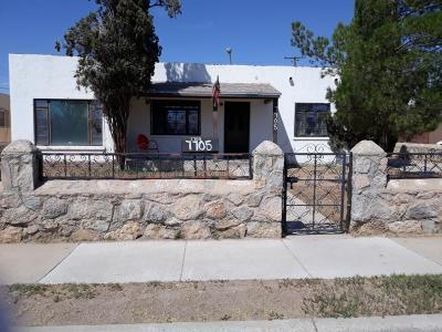 El Paso Single Family Home For Sale: 7705 Veracruz Avenue