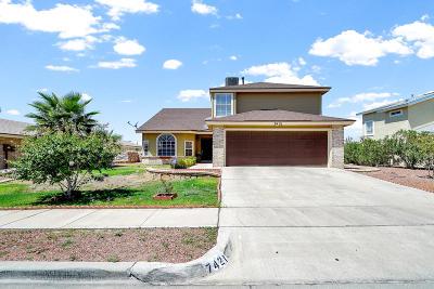 Single Family Home For Sale: 7421 Luz De Lumbre Avenue