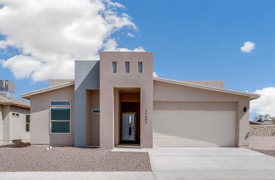 Socorro Single Family Home For Sale: 11601 Flor Del Sol