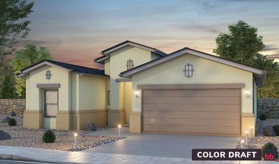Socorro Single Family Home For Sale: 11607 Flor Del Sol