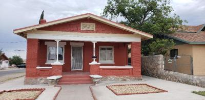 Single Family Home For Sale: 3432 Morehead