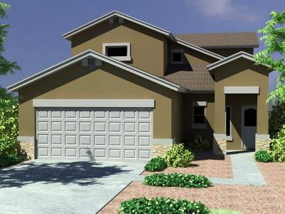 El Paso Single Family Home For Sale: 2170 Enchanted Crest Drive
