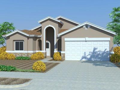 El Paso Single Family Home For Sale: 7809 Enchanted Ridge Drive
