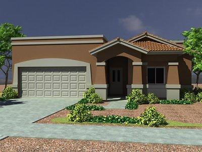El Paso Single Family Home For Sale: 7833 Enchanted Cliff Drive