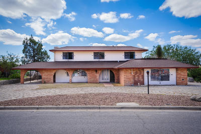 Single Family Home For Sale: 1500 Rocky Bluff Drive