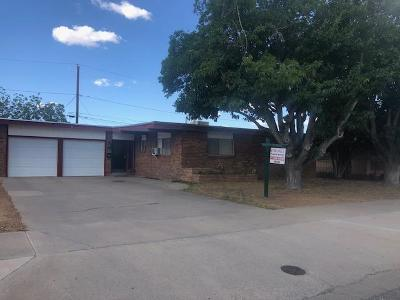 El Paso TX Single Family Home For Sale: $119,900