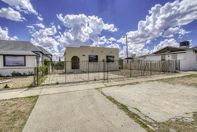 El Paso TX Single Family Home For Sale: $129,000