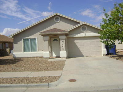 El Paso Rental For Rent: 13309 Jonathan Elias Court