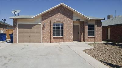 El Paso Rental For Rent: 12333 Tierra Plata Drive