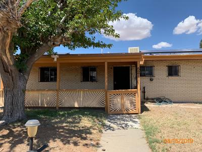 El Paso Single Family Home For Sale: 5211 Wally Drive
