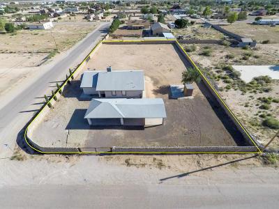 Horizon City Single Family Home For Sale: 14840 Dequincy