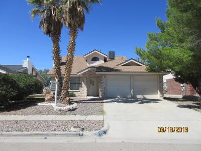 El Paso Rental For Rent: 721 Springfire Drive