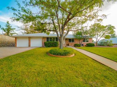 El Paso Single Family Home For Sale: 5708 Bonneville Lane