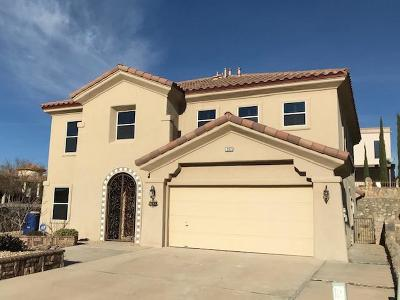 El Paso Single Family Home For Sale: 362 El Camino Drive