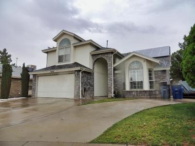 El Paso Single Family Home For Sale: 3094 Kings Crown Place