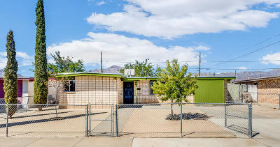 El Paso Single Family Home For Sale: 10405 Omega Circle Circle
