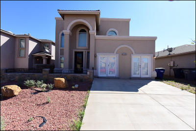 El Paso Single Family Home For Sale: 4020 Hueco Land Lane