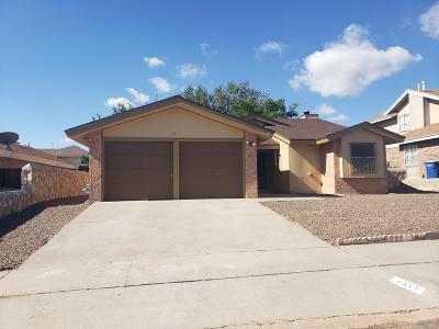 El Paso Single Family Home For Sale: 4617 Round Rock Drive