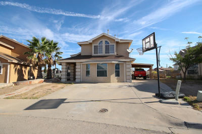 El Paso Single Family Home For Sale: 12195 Saint Lucia Drive