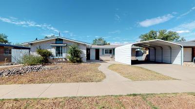 El Paso Single Family Home For Sale: 5717 Sherbrooke Avenue