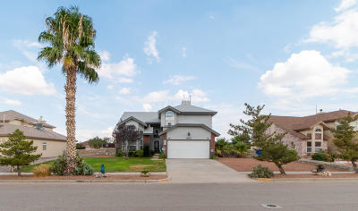 El Paso TX Single Family Home For Sale: $186,500