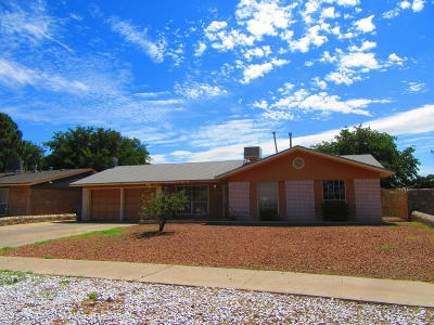 El Paso TX Single Family Home For Sale: $94,900