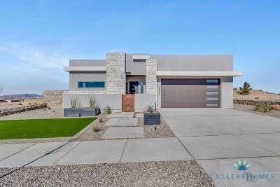 El Paso Single Family Home For Sale: 7410 Sidewinder Bend Street
