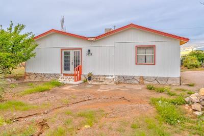 El Paso TX Single Family Home For Sale: $89,000