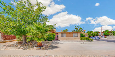 El Paso TX Single Family Home For Sale: $154,000