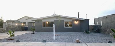 El Paso TX Single Family Home For Sale: $165,000