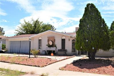 El Paso TX Single Family Home For Sale: $124,900