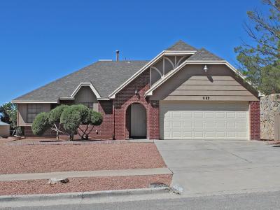 El Paso TX Single Family Home For Sale: $160,000