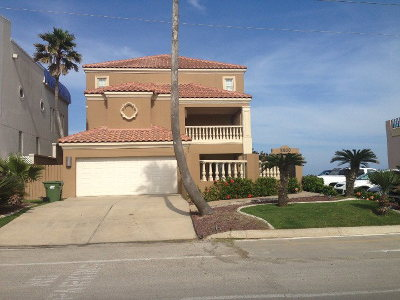 South Padre Island Single Family Home For Sale: 5800 Gulf Boulevard #LOT 1A