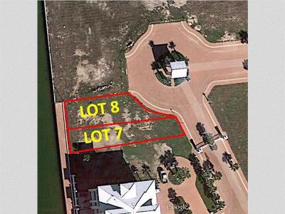 South Padre Island Residential Lots & Land For Sale: Lot 7 Water Street