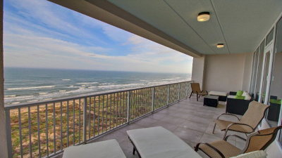 Cameron County Condo/Townhouse For Sale: 8500 Padre Boulevard #801S