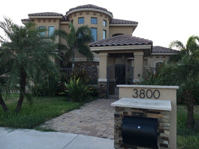 McAllen Single Family Home For Sale: 3800 S L Street