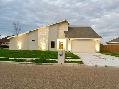 Weslaco Single Family Home For Sale: 3515 Magnolia Point