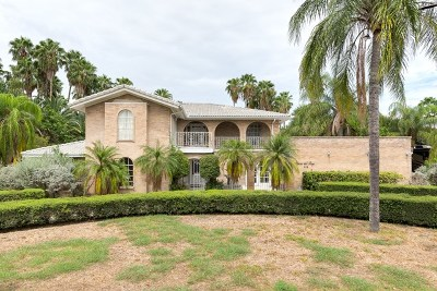 Edinburg Single Family Home For Sale: 3119 Lake Shore Drive